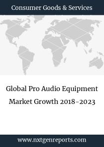 Global Pro Audio Equipment Market Growth 2018-2023