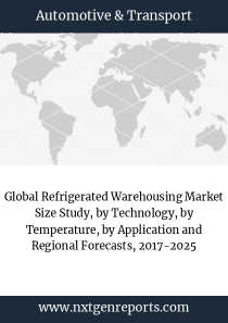 Global Refrigerated Warehousing Market Size Study, by Technology, by Temperature, by Application and Regional Forecasts, 2017-2025