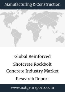 Global Reinforced Shotcrete Rockbolt Concrete Industry Market Research Report