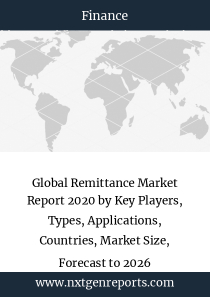 Global Remittance Market Report 2020 by Key Players, Types, Applications, Countries, Market Size, Forecast to 2026