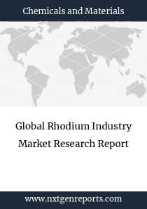 Global Rhodium Industry Market Research Report