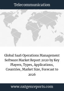 Global SaaS Operations Management Software Market Report 2020 by Key Players, Types, Applications, Countries, Market Size, Forecast to 2026