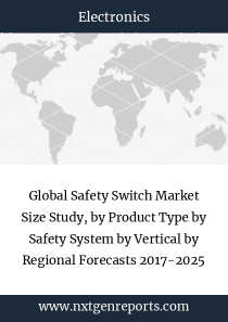 Global Safety Switch Market Size Study, by Product Type by Safety System by Vertical by Regional Forecasts 2017-2025