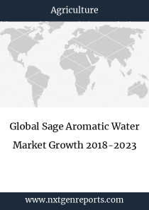 Global Sage Aromatic Water Market Growth 2018-2023