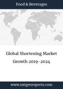 Global Shortening Market Growth 2019-2024