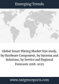 Global Smart Mining Market Size study, by Hardware Component, by Systems and Solutions, by Service and Regional Forecasts 2018-2025