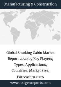 Global Smoking Cabin Market Report 2020 by Key Players, Types, Applications, Countries, Market Size, Forecast to 2026