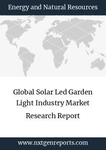 Global Solar Led Garden Light Industry Market Research Report