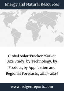 Global Solar Tracker Market Size Study, by Technology, by Product, by Application and Regional Forecasts, 2017-2025