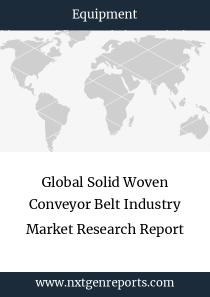 Global Solid Woven Conveyor Belt Industry Market Research Report