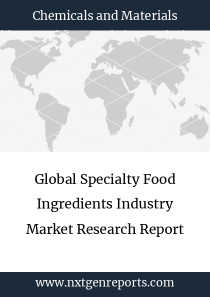 Global Specialty Food Ingredients Industry Market Research Report