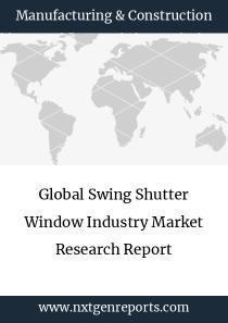Global Swing Shutter Window Industry Market Research Report