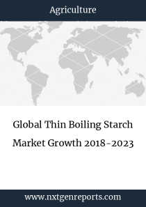 Global Thin Boiling Starch Market Growth 2018-2023