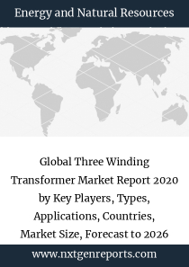 Global Three Winding Transformer Market Report 2020 by Key Players, Types, Applications, Countries, Market Size, Forecast to 2026