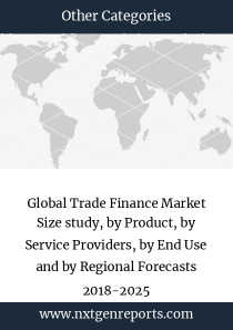 Global Trade Finance Market Size study, by Product, by Service Providers, by End Use and by Regional Forecasts 2018-2025