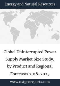 Global Uninterrupted Power Supply Market Size Study, by Product and Regional Forecasts 2018-2025