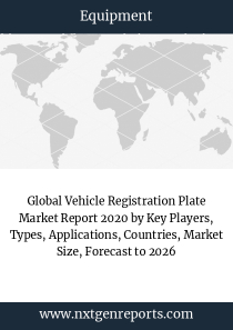 Global Vehicle Registration Plate Market Report 2020 by Key Players, Types, Applications, Countries, Market Size, Forecast to 2026