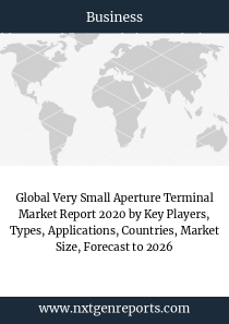 Global Very Small Aperture Terminal Market Report 2020 by Key Players, Types, Applications, Countries, Market Size, Forecast to 2026