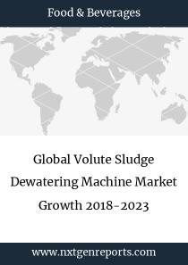 Global Volute Sludge Dewatering Machine Market Growth 2018-2023