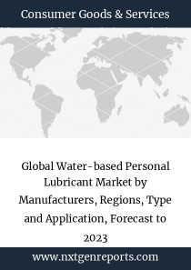 Global Water-based Personal Lubricant Market by Manufacturers, Regions, Type and Application, Forecast to 2023