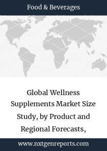 Global Wellness Supplements Market Size Study, by Product and Regional Forecasts, 2017-2025