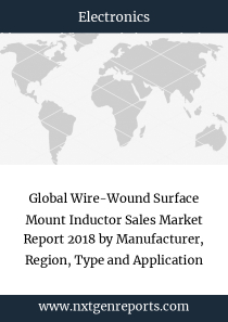 Global Wire-Wound Surface Mount Inductor Sales Market Report 2018 by Manufacturer, Region, Type and Application