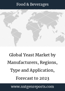 Global Yeast Market by Manufacturers, Regions, Type and Application, Forecast to 2023