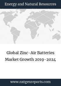 Global Zinc-Air Batteries Market Growth 2019-2024