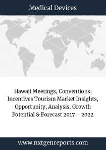 Hawaii Meetings, Conventions, Incentives Tourism Market Insights, Opportunity, Analysis, Growth Potential & Forecast 2017 – 2022
