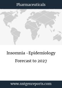Insomnia -Epidemiology Forecast to 2027