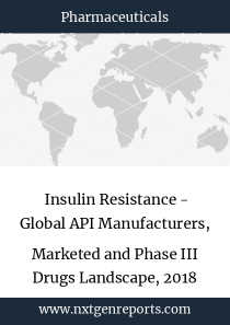 Insulin Resistance - Global API Manufacturers, Marketed and Phase III Drugs Landscape, 2018