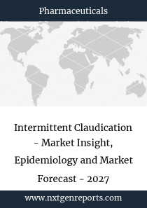 Intermittent Claudication - Market Insight, Epidemiology and Market Forecast - 2027