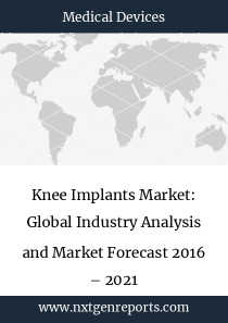 Knee Implants Market: Global Industry Analysis and Market Forecast 2016 – 2021