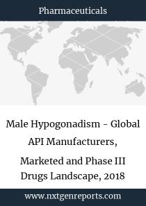 Male Hypogonadism - Global API Manufacturers, Marketed and Phase III Drugs Landscape, 2018