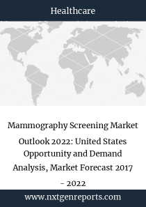 Mammography Screening Market Outlook 2022: United States Opportunity and Demand Analysis, Market Forecast 2017 - 2022