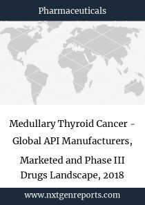 Medullary Thyroid Cancer - Global API Manufacturers, Marketed and Phase III Drugs Landscape, 2018