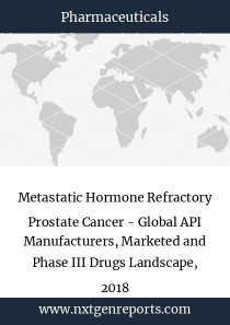 Metastatic Hormone Refractory Prostate Cancer - Global API Manufacturers, Marketed and Phase III Drugs Landscape, 2018