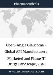 Open-Angle Glaucoma - Global API Manufacturers, Marketed and Phase III Drugs Landscape, 2018