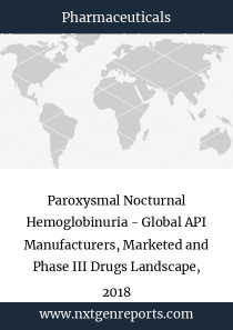 Paroxysmal Nocturnal Hemoglobinuria - Global API Manufacturers, Marketed and Phase III Drugs Landscape, 2018