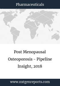 Post Menopausal Osteoporosis - Pipeline Insight, 2018