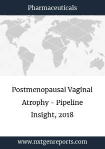 Postmenopausal Vaginal Atrophy - Pipeline Insight, 2018