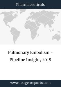 Pulmonary Embolism - Pipeline Insight, 2018