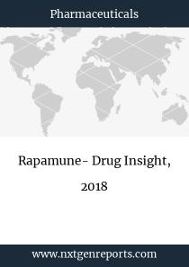 Rapamune- Drug Insight, 2018