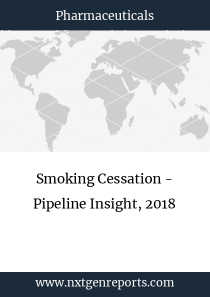 Smoking Cessation - Pipeline Insight, 2018