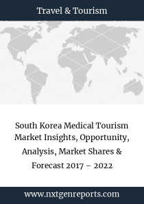 South Korea Medical Tourism Market Insights, Opportunity, Analysis, Market Shares & Forecast 2017 – 2022