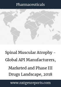 Spinal Muscular Atrophy - Global API Manufacturers, Marketed and Phase III Drugs Landscape, 2018