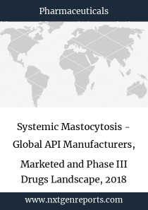 Systemic Mastocytosis - Global API Manufacturers, Marketed and Phase III Drugs Landscape, 2018
