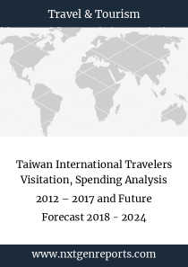 Taiwan International Travelers Visitation, Spending Analysis 2012 – 2017 and Future Forecast 2018 - 2024