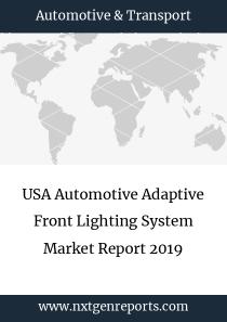 USA Automotive Adaptive Front Lighting System Market Report 2019