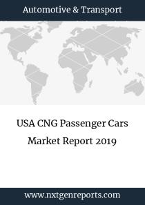 USA CNG Passenger Cars Market Report 2019